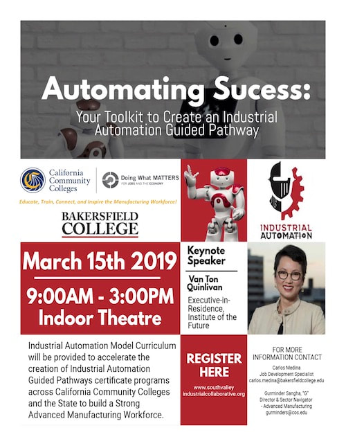 Automating Success Seminar Flyer