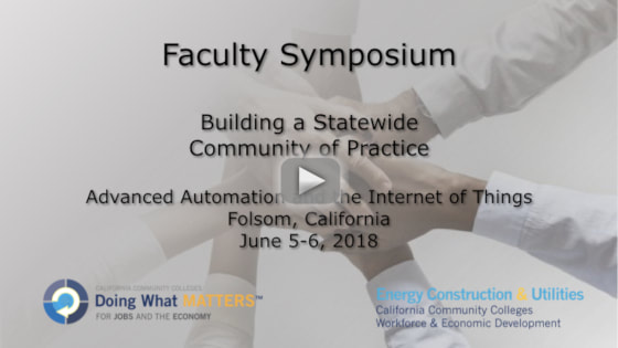 CAISO Faculty Symposium Wrap Up Video