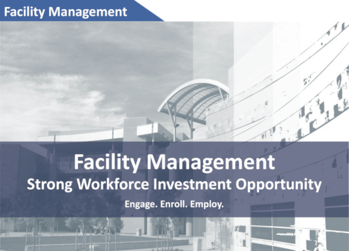 Facility Management Strong Workforce Brochure